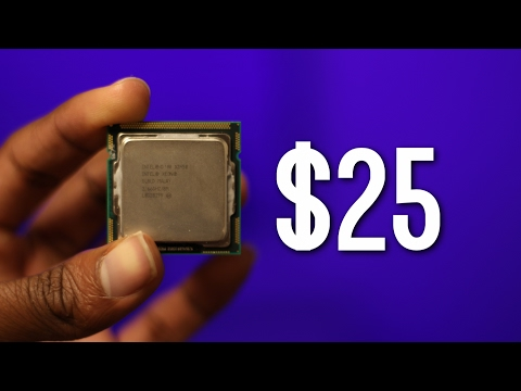 The $25 i7 CPU vs The i7 6700K: Are old Xeons worth it in 2017?