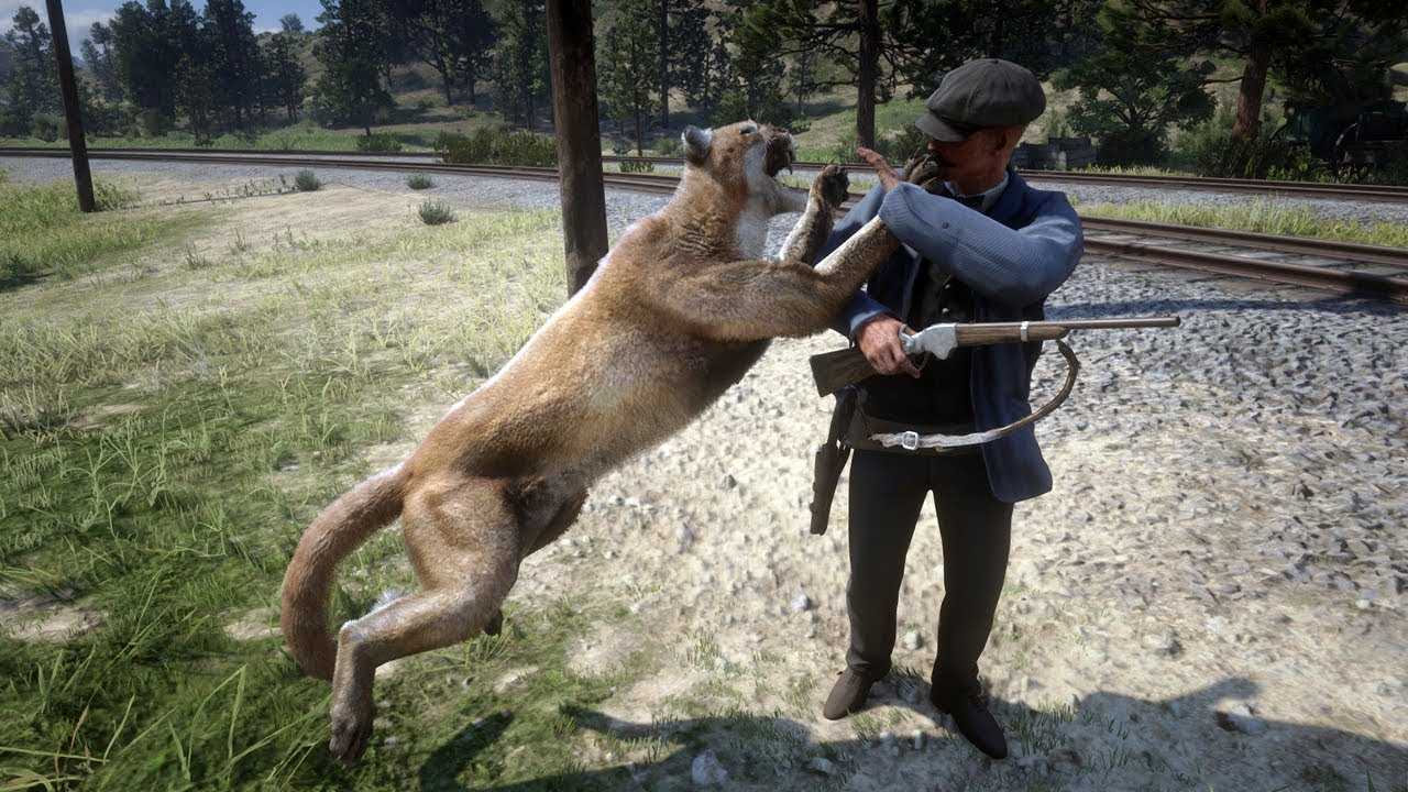 Playing as Animals in Red Dead Redemption 2 (PC Mod)