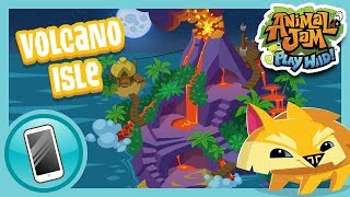 The New Volcano Isle Den Is Arriving in Play Wild! | Animal Jam Play Wild