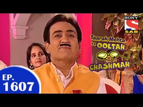 Taarak Mehta Ka Ooltah Chashmah - तारक मेहता - Episode 1607 - 13th February 2015