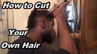 How To Cut Your Own Hair - Black Men's Haircut Tutorial