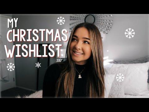 My Christmas Wishlist 2017! | McKenzie Luskey