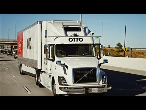 Uber's Otto Debuts Delivery by Self-Driving Truck
