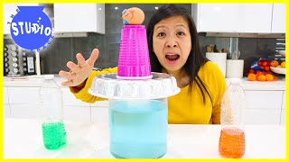 Minute to Win It games at home Challenge with Ryan's Mom Vs. The Studio Space!!!