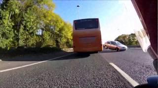 Bad crash on M62 Liverpool 23/10/16