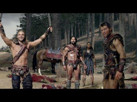 Сериал Спартак. Гладиаторы уничтожают римский патруль