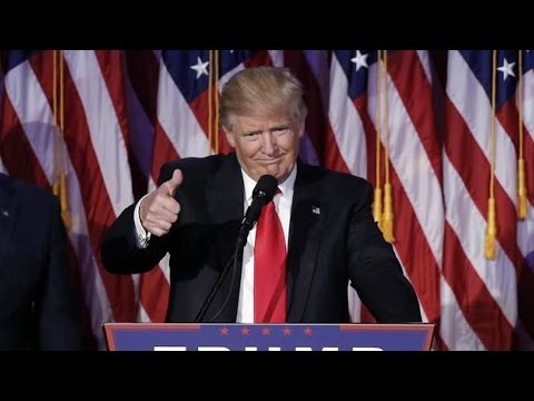 From the First African-American President to One Supported by the Ku Klux Klan: Trump Wins in Upset