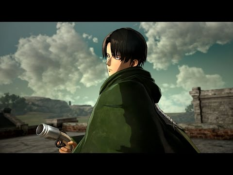 Best 3d Live Wallpaper For Pc Attack On Titan Captain Levi Gameplay Youtube