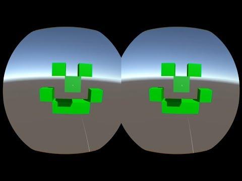 VRCube: simple building functional on Vive Focus & Unity