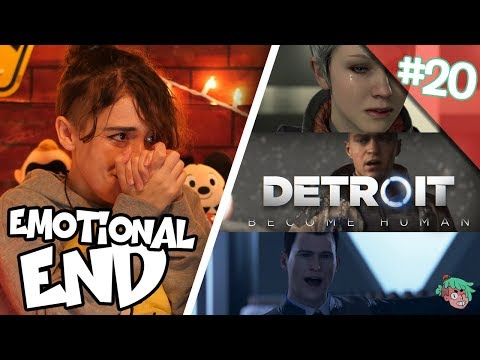 Let's Play DETROIT BECOME HUMAN (Finale) THE EMOTIONAL END FOR ANDROIDS IS HERE?!