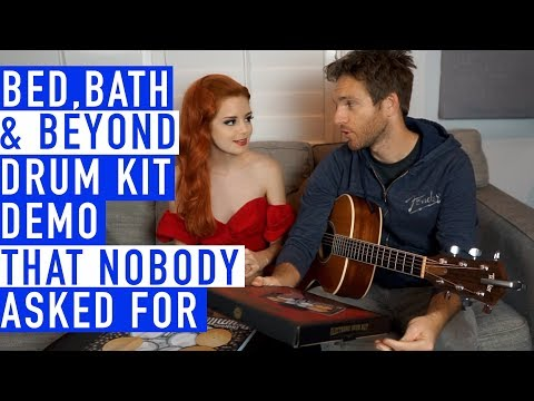 Bed Bath and Beyond Drum Kit Demo that Nobody Asked For