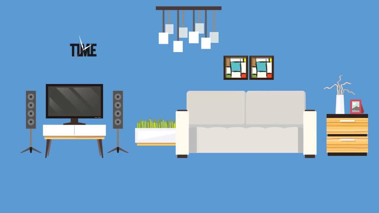 Cartoon Living Room - Living Room Ideas