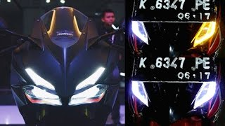 Cara Membuat Lampu Alis Berubah Warna Ala CBR 250RR.(make eyebrow lights can change color)