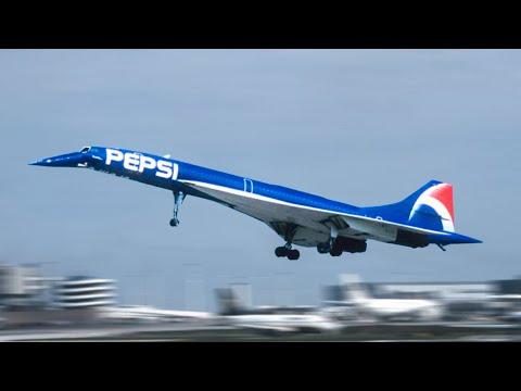 Carson - TIL: Blue paint slowed the Concorde during 1996 PEPSI promotion!