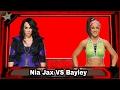 WWE Raw 2017.02.06 Bayley vs Nia Jax