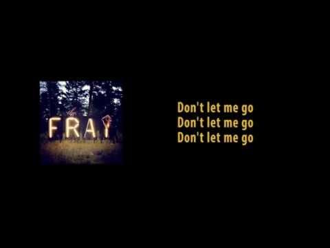 The Fray - Never Say Never ( Instrument/Karaoke + Lyrics )