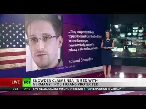 Snowden strikes again: 'NSA in bed with Germany'