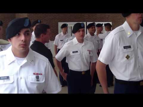 Turning Blue Ceremony Fort Benning, GA April 2017 (Part 1)