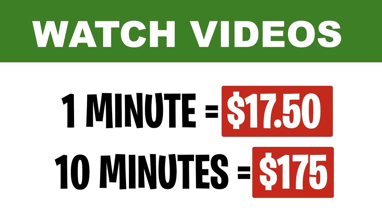 EARN $175 PER HOUR WATCHING VIDEOS [MAKE MONEY ONLINE]