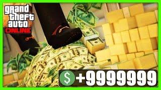 GTA 5 Online - Как Заработать Много Денег (соло)