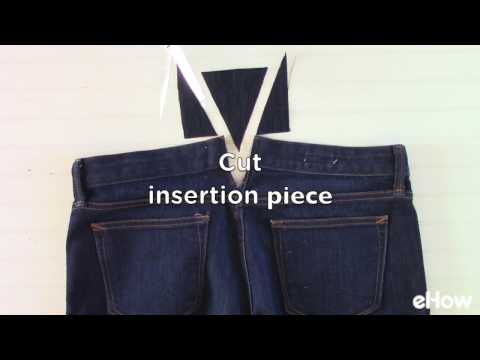 How to Make the Waistband Bigger on Jeans