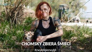 Piesek Chomsky i artystka z Nowej Zelandii za darmo sprzątają Toruń.