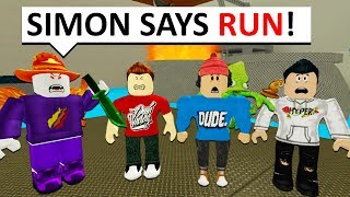 PrestonPlayz IS AN EVIL SIMON! (Roblox SIMON SAYS IN MM2)