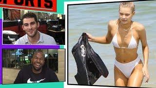 Josie Canseco's Scorching Miami Bikini Sesh w/ Mike Stud | TMZ Sports