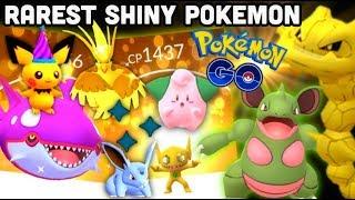Rarest Shiny Pokemon in Pokemon GO   What shinies have value?