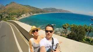 Welcome To Sicily, Taormina ( PART 1) - GoPro HERO 4 Travel Video HD