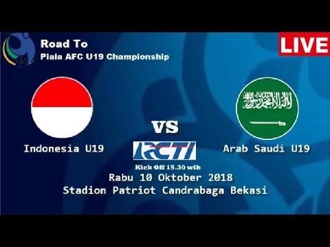 Jadwal[ SIARAN LANGSUNG ] Indonesia U19 VS Arab Saudi U19 Live RCTI #TIMNASDAY