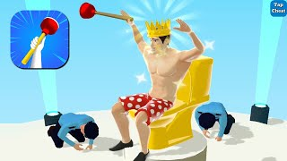 Toilet Rush Game - Gameplay Walkthrough Part 1 - All Levels 1-13 (Android,iOS)