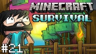 Minecraft: Survival - Part 21 - The Noodle Blade (XP Farm)