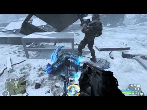 [Industrial Hardcore] CRYSIS gameplay -audio: Riot on Wallstreet (DJ Scale Ripper rmx) - Blurix