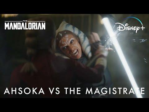 Ahsoka Tano vs The Magistrate | Disney+