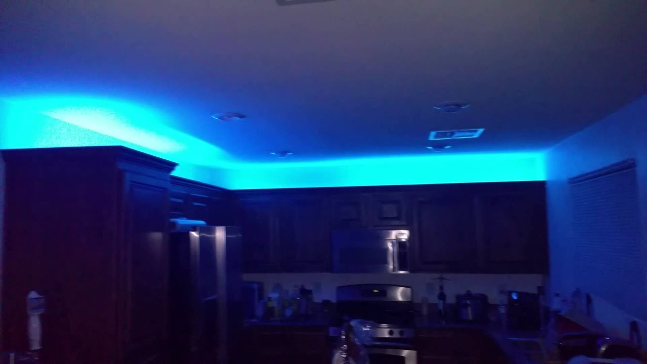 Philips hue light strip kitchen cabinets resnooze hue lighting ideas i prettylashes co aloadofball Gallery