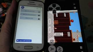 Android WIFI NES multiplayer with free Multiness emulator