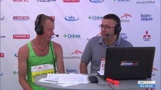 Юрий Грицак, победитель Одесского Полумарафона-2017. Интервью в прямом эфире 25/06/2017