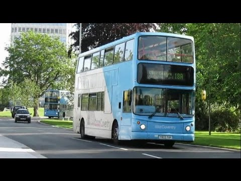 Buses in Coventry June 2015