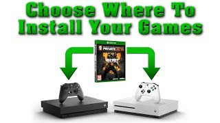 How To Install Games On Specific Xbox One Consoles