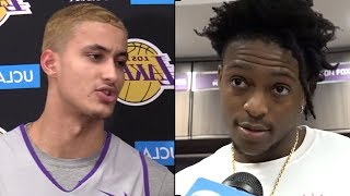"""Kyle Kuzma CURSES OUT LEBRON JAMES After TRADE """"You Are WASHED""""& Dearron Fox REACTS TO LAKERS TRADE!"""