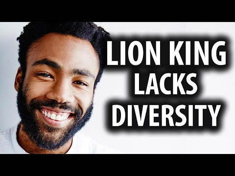 """New Lion King Cast is Very """"Diverse"""""""