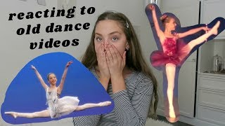 reacting to old dance videos