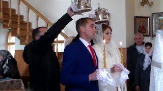 ВЕНЧАНИЕ/СВАДЬБА СЕСТРЕНКИ/УКРАИНСКАЯ СВАДЬБА/УКРАИНА 2016 ДЕНЬ2
