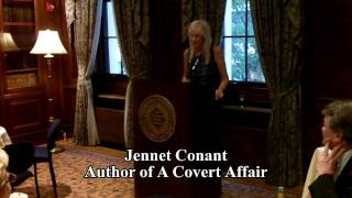 Jennet Conent about her book A Covert Affair