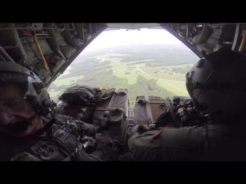 NC Guardsmen Conduct Aerial Resupply Operation