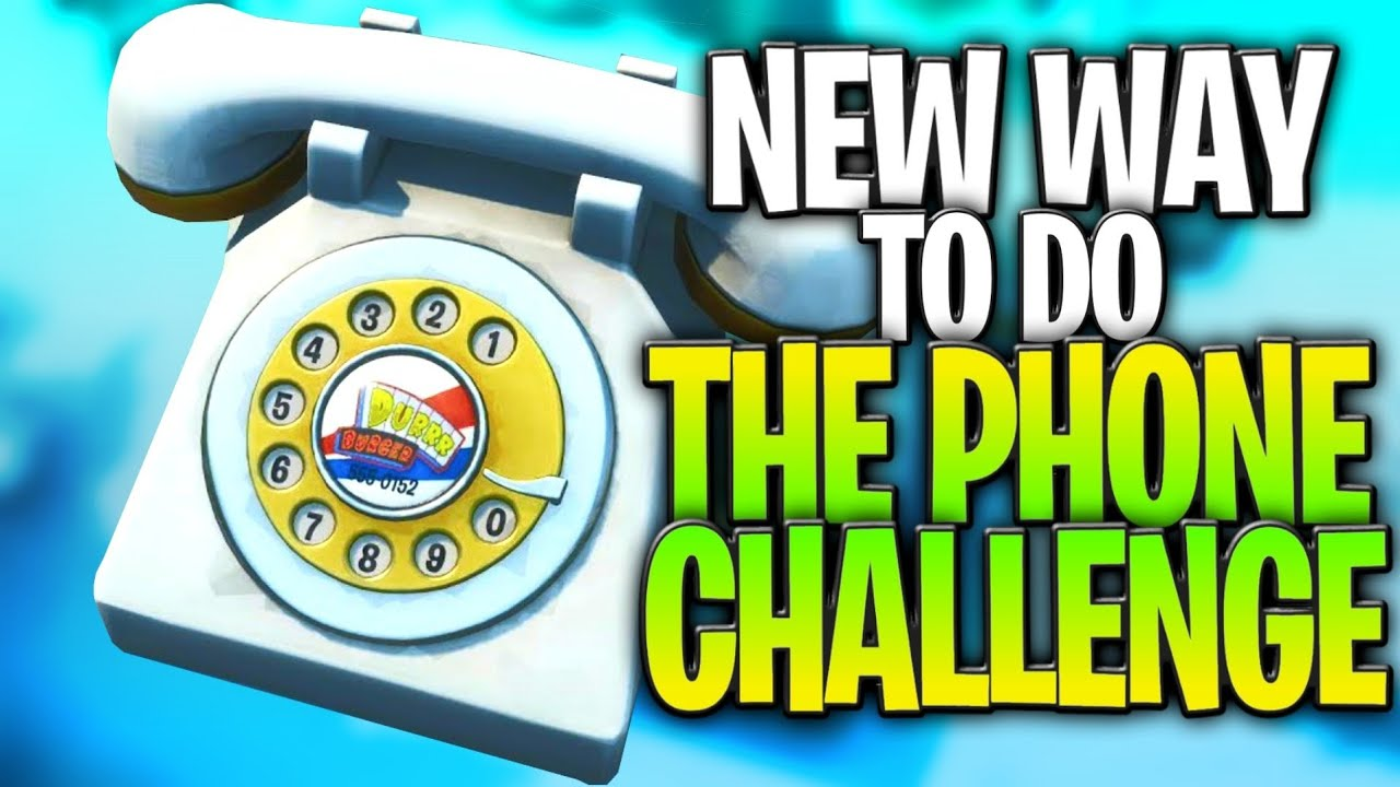 new easier way to dial the big phones in fortnite big phone challenge guide and easter egg - big telephone fortnite challenge
