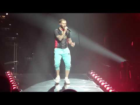 Maps & Harder to Breathe LIVE Maroon 5 6-16-18 Amalie Arena, Tampa Florida