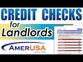 Background Check Tenant Screening Services (For Landlords)