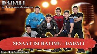 Gambar cover SESAAT ISI HATIMU -  DADALI Karaoke